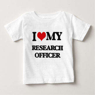 I love my Research Officer Shirts