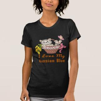 I Love My Russian Blue T-Shirt