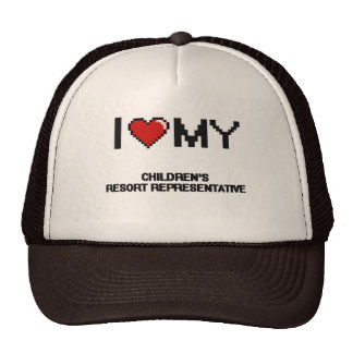 I love my s Resort Representative Trucker Hat