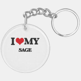 I love my Sage Acrylic Key Chains