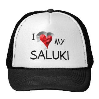 I Love My Saluki Trucker Hat