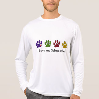 I love my Schoodle Walk the Dog Shirt