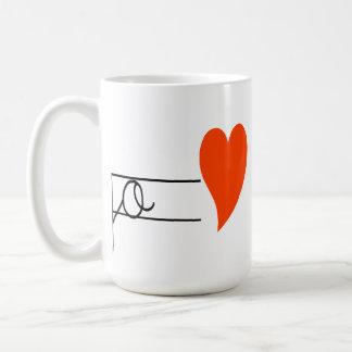 i love my school-I like my school Coffee Mug