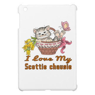 I Love My Scottie chausie iPad Mini Cover