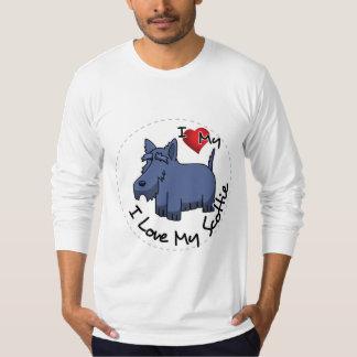 I Love My Scottie Dog T-Shirt