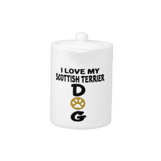 I Love My Scottish Terrier Dog Designs