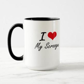 I Love My Scrooge Mug