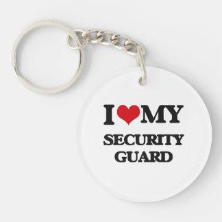 I love my Security Guard Key Chain