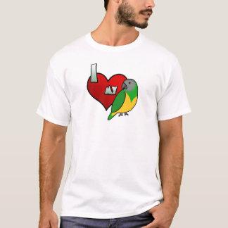 I Love my Senegal Parrot T-Shirt