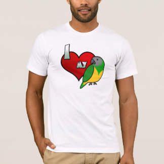 I Love my Senegal Parrot TeeShirt T-Shirt
