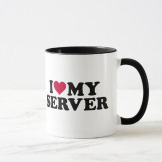 I love my server mug