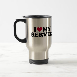 I love my server travel mug