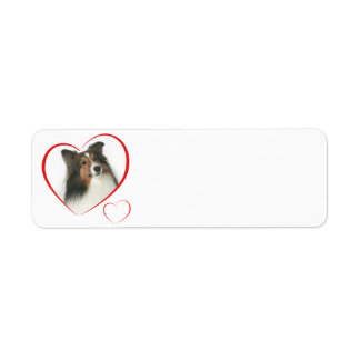 I Love my Sheltie #2 Custom Return Address Label