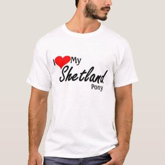 I love my shetland pony T-Shirt