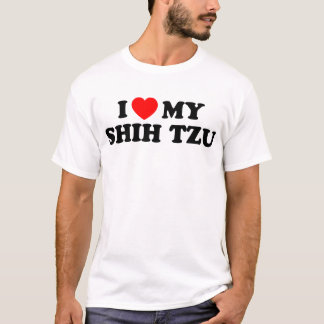 I Love my Shih Tzu Basic T-Shirt