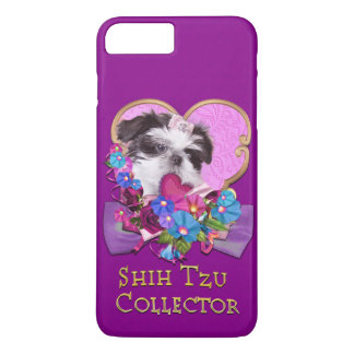 I Love my Shih Tzu Pink Cell Phone Case