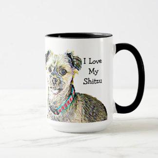 I Love my Shitzu Coffee Mug