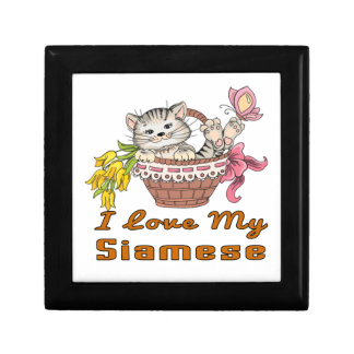 I Love My Siamese Gift Box