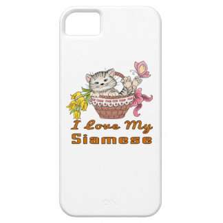 I Love My Siamese iPhone 5 Case