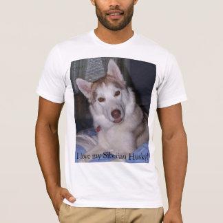 I love my Siberian Husky! T-Shirt