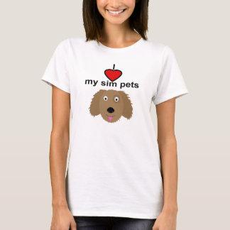 I love my sim pets - Women's Dog T-Shirt
