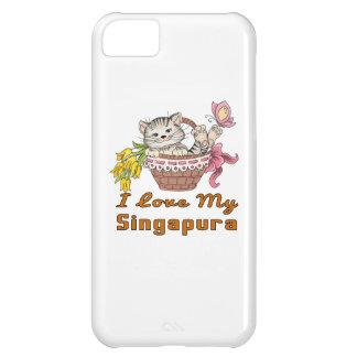 I Love My Singapura iPhone 5C Case