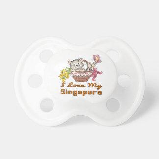 I Love My Singapura Pacifier
