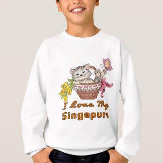 I Love My Singapura Sweatshirt