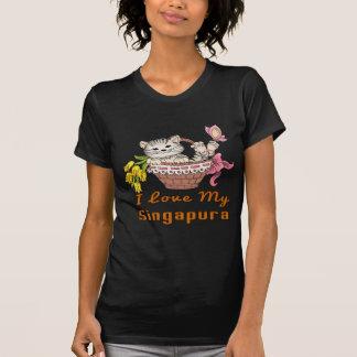 I Love My Singapura T-Shirt