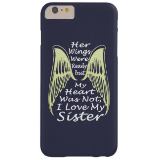 I Love My Sister Barely There iPhone 6 Plus Case