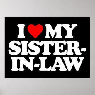 I LOVE MY SISTER-IN-LAW PRINT