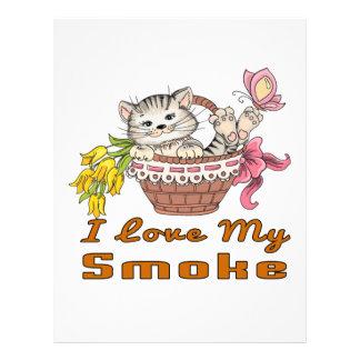 I Love My Smoke Letterhead