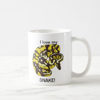 I love my Snake! Coffee Mug