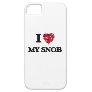 I love My Snob iPhone 5 Covers