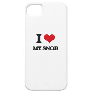 I love My Snob iPhone 5 Case