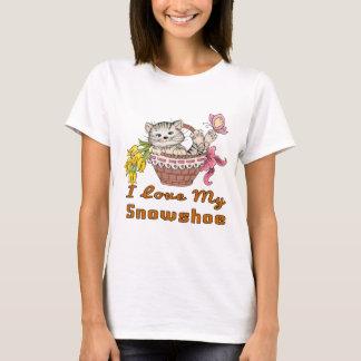 I Love My Snowshoe T-Shirt