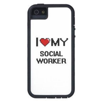I love my Social Worker Case For The iPhone 5
