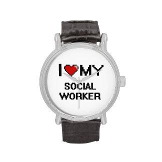 I love my Social Worker Wristwatch