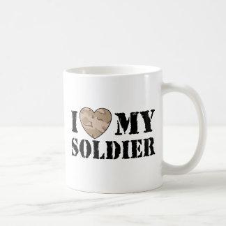 I Love My Soldier Coffee Mug