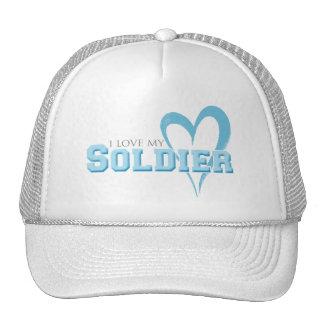 I love my Soldier Trucker Hats