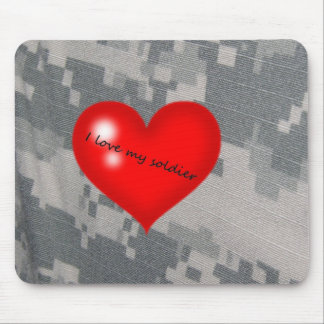 I love my soldier mouse pad
