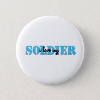 I love my solider 2 inch round button