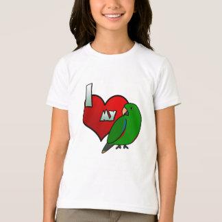 I Love my Solomon Islands Eclectus T-Shirt