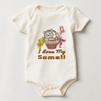I Love My Somali Baby Bodysuit
