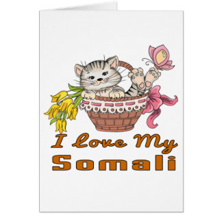 I Love My Somali Card