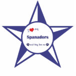 I Love My Spanadors (Multiple Dogs) Photo Cutout