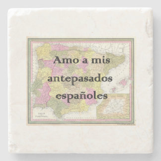 I Love My Spanish Ancestors | Custom Coasters