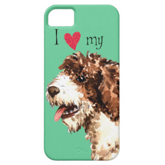 I Love my Spanish Water Dog iPhone 5 Covers