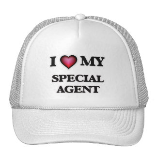I love my Special Agent Trucker Hat