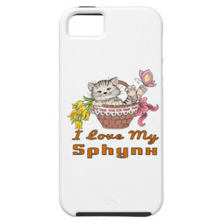 I Love My Sphynx Case For The iPhone 5